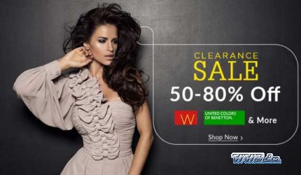 cad5ad3026a6 Clearance Sale of women's clothing & accessories -Snapdeal-Get 50 ...