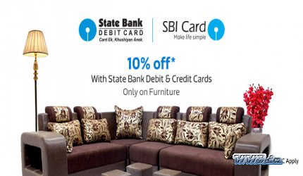 Buy Furniture From Flipkart And Get 10% Discount On SBI Debit And Credit  Cards