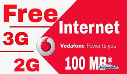 Get Free 100 MB 3G Data - My Vodafone App Offer -Sign Up and
